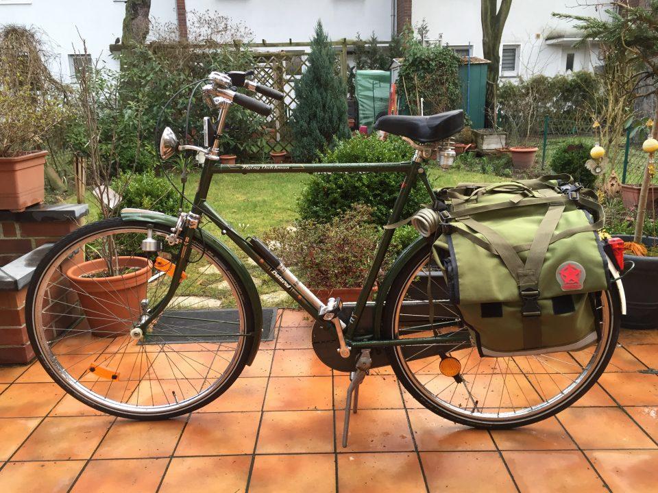 Start der Radtour